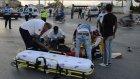 Beton pompası aracı motosiklete çarptı: 2 yaralı - KARAMAN