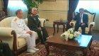 Davutoğlu, Orgeneral Özel ve kuvvet komutanlarını kabul etti - ANKARA