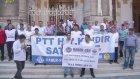 Haber-Sen üyeleri eylem yaptı - İSTANBUL