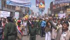 Hükümet karşıtı gösterilere müdahale - SANA