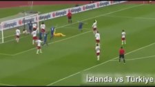 Türkiye 0-3 İzlanda (Maç Özeti)