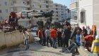 Duvara çarpan beton mikserinde sıkışan sürücü kurtarıldı - BURSA