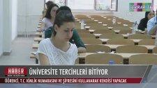 Üniversite Tercihleri Bitiyor