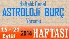 Haftalık Burç Ve  Astroloji Yorumu, 15-21 Eylül 2014,  Astrolog Demet Baltacı