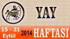 Yay Burcu, Haftalık Astroloji Yorumu, 15-21 Eylül 2014, Astrolog Demet Baltacı Bilinç Okulu.mp4