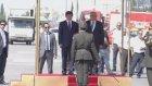 Davutoğlu, resmi törenle karşılandı - LEFKOŞA