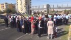 """Şanlıurfa'da """"tam gün eğitim"""" protestosu"""