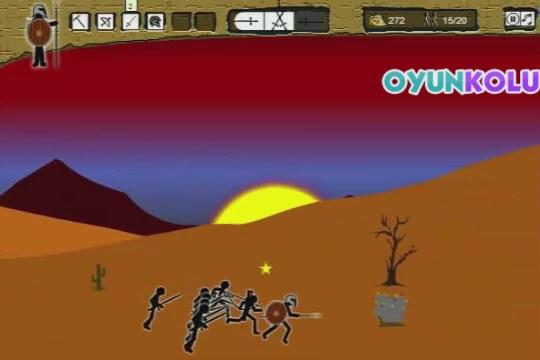 çöp Adam Savaşları Oyununun Oynanış Videosu Izlesenecom