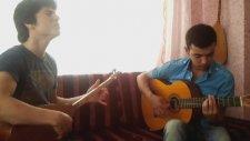 Düşlerde Sevdim Seni - Saz Gitar