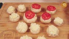 Keçi Peynirli Mantar Dolması Tarifi