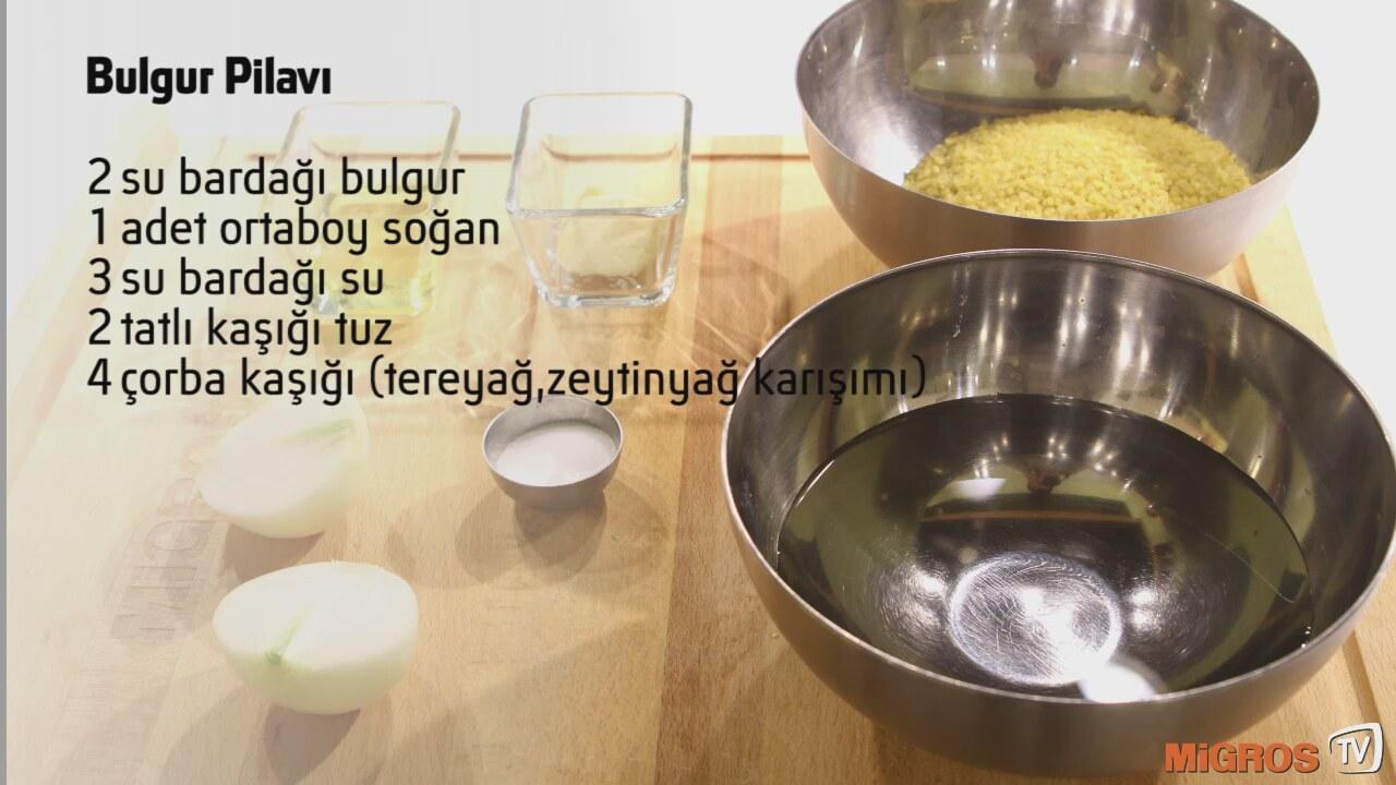 Sade Bulgur Pilavı Tarifi Videosu