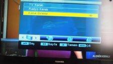 Türksat 4A Ayarları, Kanal Frekans Değiştirme, Kanal Ayarlama