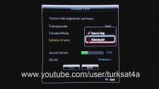 Türksat 4A Samsung Smart Tv Manuel Kanal Arama Şebeke Arama