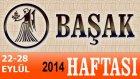 Başak Burcu Haftalık Astroloji Yorumu 22-28 Eylül 2014 Astrolog Demet Baltacı