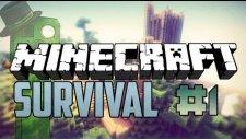 Minecraft Xektor İle Survival İlk Gün : Bölüm 1