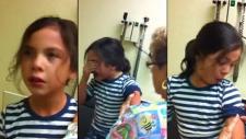 Aşının Küçük Kız Üzerindeki Korkunç Etkisi!