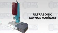 Ultrasonik Kaynak Makinası