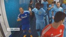 Yaya Toure Eden Hazard'ı Tokat Manyağı Yaptı