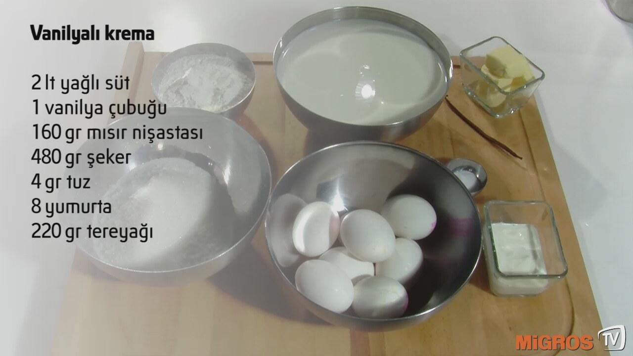 Tuzlu Krema Yemekler İçin Videosu
