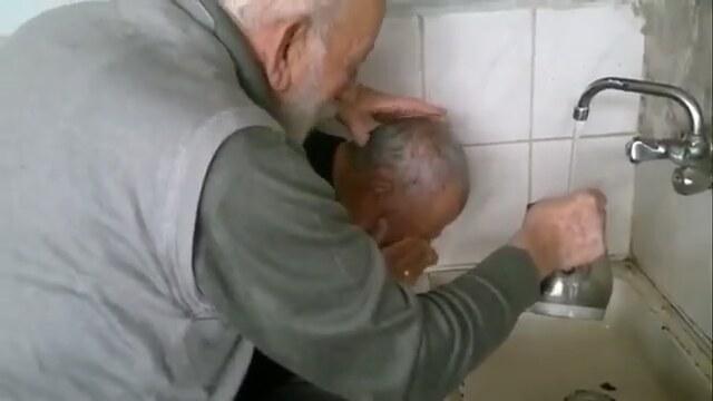 Horny grandpas fuck younger slut  Redtube Free Brunette Porn