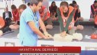 Ortaköy'de Toplu Kalp Masajı