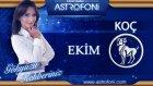 Koç Burcu Aylık Astroloji Yorumu Ekim 2014 Astrolog Demet Baltacı