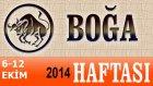 Boğa Burcu Haftalık Astroloji Yorumu 6-12 Ekim 2014 Astrolog Demet Baltacı