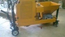 Karayolu Bordürü Makinası