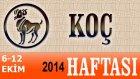 Koç Burcu Haftalık Astroloji Yorumu 6-12 Ekim 2014 Astrolog Demet Baltacı