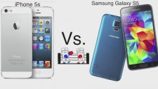 Samsung Galaxy S5 Ve İphone 5s Karşılaştırması-Türkçe- Hangisini Almalıyız