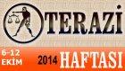 Terazi Burcu Haftalık Astroloji Yorumu 6-12 Ekim 2014 Astrolog Demet Baltacı