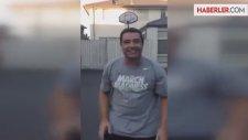 Baba Öyle Bir Basket Attı Ki, Kendisi Bile İnanamadı