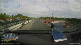 Radarı Gören Motorluların Birbirini Dürtmesi