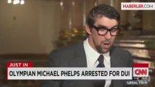 Dünya Şampiyonu Yüzücü Phelps, Gözaltına Alındı