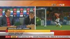 Arsenal & Galatasaray - Prandelli & Blerim Dzemaili Basın Toplantısı