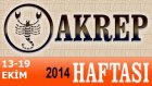 Akrep Burcu Haftalık Astroloji Yorumu 13-19 Ekim 2014 Astrolog Demet Baltacı