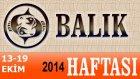 Balık Burcu Haftalık Astroloji Yorumu 13-19 Ekim 2014 Astrolog Demet Baltacı