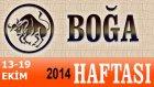 Boğa Burcu Haftalık Astroloji Yorumu 13-19 Ekim 2014 Astrolog Demet Baltacı