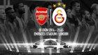 Maça Doğru: Arsenal - Galatasaray