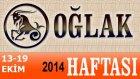 Oğlak Burcu Haftalık Astroloji Yorumu 13-19 Ekim 2014 Astrolog Demet Baltacı