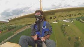 Go Pro Eşliğinde Açık Hava Planörü Keyfi