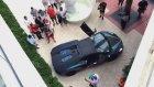 Lamborghini Egzosuyla Yangın Çıkarmak