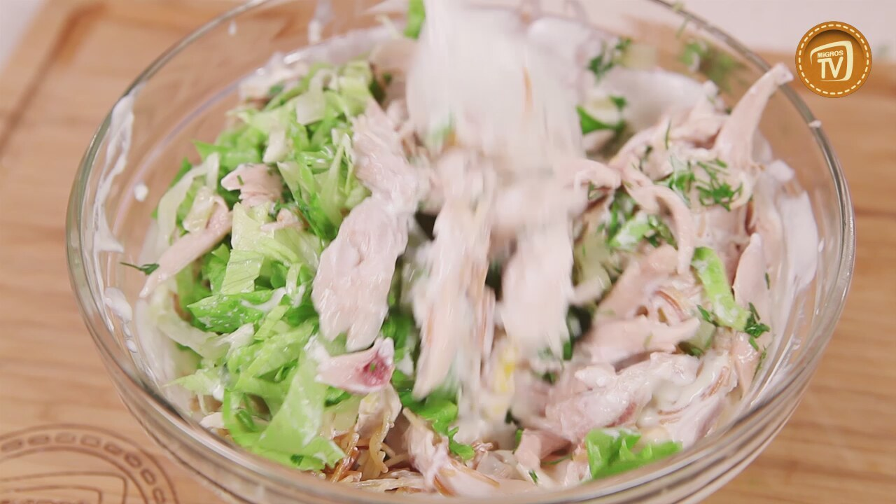 Mantar Salatası Tarifi Videosu