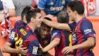 Vallecano 0-2 Barcelona - Maç Özeti (4.10.2014)