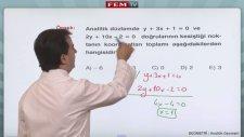 Analitik Geometri Doğrunun Analitik İncelenmesi 5