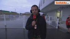 Formula 1'de Bianchi Kaza Yaptı, Hastaneye Kaldırıldı