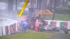 Formula 1'de Jules Bianchi'nin Kazası (05.10.2014)