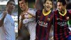 Dünyanın En İyi 10 Futbolcusu - 2014 Sezonu [goller - Çalımlar - Hareketler]