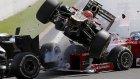 Formula 1'de Feci Kaza