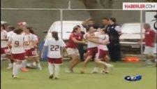 Kadın Futbolcuya Tekme Attı, 2 Yıl Ceza Aldı
